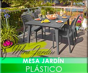Mesa Plástico Jardín