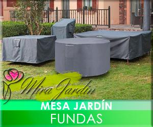 Mesa Jardín Fundas