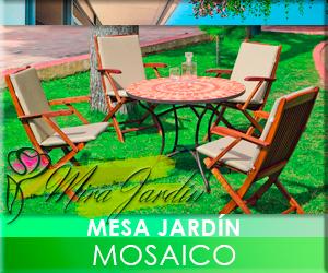 Mesa Jardín Mosaico