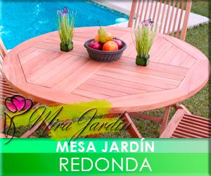 Mesa Jardín Redonda